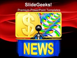 News Report Business PowerPoint Templates And PowerPoint Backgrounds 0511