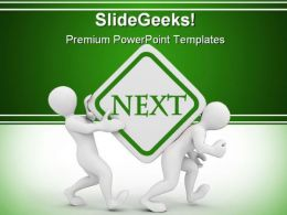 Next People PowerPoint Background And Template 1210