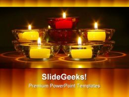 Nighttime Candles Beauty PowerPoint Templates And PowerPoint Backgrounds 0611