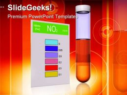 Nitrite Test Science PowerPoint Templates And PowerPoint Backgrounds 0211