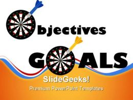 Objectives And Goals Success PowerPoint Templates And PowerPoint Backgrounds 0811