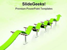 Obstacle Symbol PowerPoint Template 0910