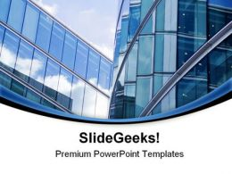 Office Buildings Architecture PowerPoint Templates And PowerPoint Backgrounds 0811