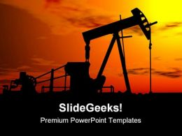Oil Pump Industrial PowerPoint Templates And PowerPoint Backgrounds 0311