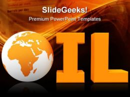 Oil World Industrial PowerPoint Templates And PowerPoint Backgrounds 0311