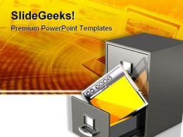 Online Sharing Internet PowerPoint Template 0610