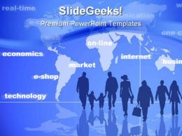 Online Shopping Technology PowerPoint Templates And PowerPoint Backgrounds 0311