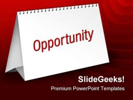 Opportunity Business PowerPoint Templates And PowerPoint Backgrounds 0711