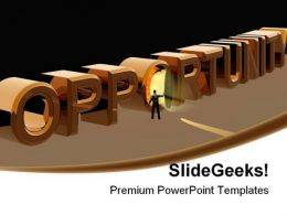 Opportunity People PowerPoint Background And Template 1210