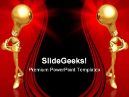 Opposing Ideas Business PowerPoint Templates And PowerPoint Backgrounds 0811