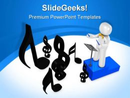Orchestra Music PowerPoint Templates And PowerPoint Backgrounds 0711