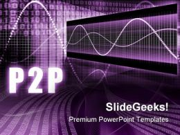 P2p Business PowerPoint Templates And PowerPoint Backgrounds 0511