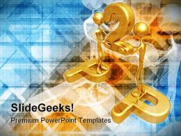 P2p Concept Business PowerPoint Templates And PowerPoint Backgrounds 0711