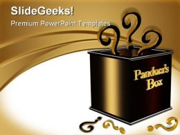 Pandora Box Business PowerPoint Templates And PowerPoint Backgrounds 0511