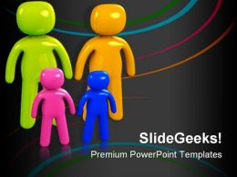 Parents And Children Family PowerPoint Templates And PowerPoint Backgrounds 0611