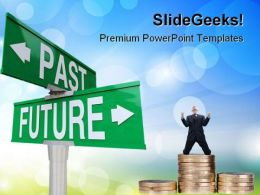 Past And Future Finance PowerPoint Templates And PowerPoint Backgrounds 0611