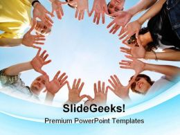 People Altogether Communication PowerPoint Templates And PowerPoint Backgrounds 0811