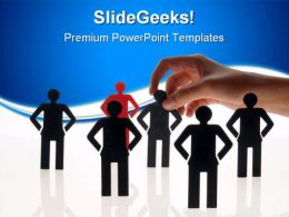 People Choice Business PowerPoint Templates And PowerPoint Backgrounds 0711
