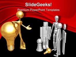 People Discussion On Idea Business PowerPoint Templates And PowerPoint Backgrounds 0311