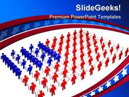 People Of America Global PowerPoint Templates And PowerPoint Backgrounds 0211