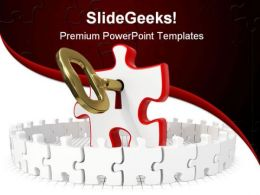 Perfect Solution Business PowerPoint Template 1110