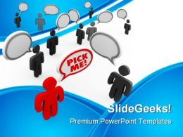Pick Me Leadership PowerPoint Templates And PowerPoint Backgrounds 0911