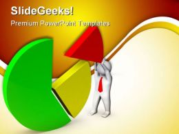 Pie Chart06 Business PowerPoint Templates And PowerPoint Backgrounds 0411