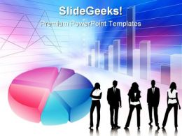 Pie Chart06 Business PowerPoint Templates And PowerPoint Backgrounds 0611