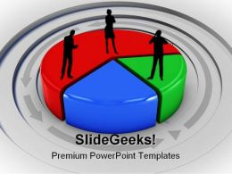 Pie Chart Business PowerPoint Templates And PowerPoint Backgrounds 0811