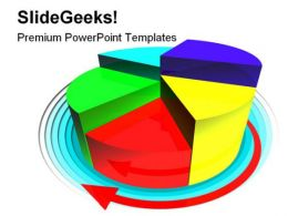Pie Diagram Business PowerPoint Templates And PowerPoint Backgrounds 0411