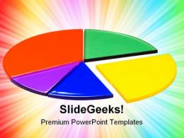 Pie Graph Business PowerPoint Templates And PowerPoint Backgrounds 0711