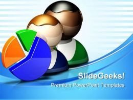 Pie Icon Business PowerPoint Templates And PowerPoint Backgrounds 0811