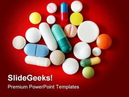 Pills Medical PowerPoint Templates And PowerPoint Backgrounds 0411