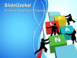 Plan Business PowerPoint Templates And PowerPoint Backgrounds 0811