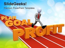Plan Goal Success PowerPoint Templates And PowerPoint Backgrounds 0811