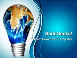 Planet Idea Business PowerPoint Templates And PowerPoint Backgrounds 0311