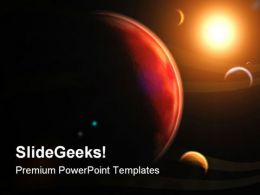 Planets Globe PowerPoint Templates And PowerPoint Backgrounds 0711