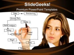 Planning Business PowerPoint Template 0810