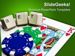 Pocket Betting Button Lifestyle PowerPoint Templates And PowerPoint Backgrounds 0411