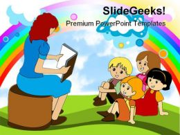 Preschool Education PowerPoint Backgrounds And Templates 1210