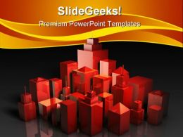 Prime Property Construction PowerPoint Templates And PowerPoint Backgrounds 0711