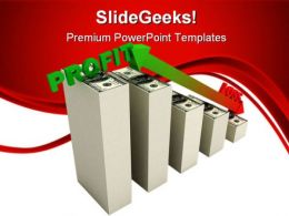 Profit Graph Business PowerPoint Templates And PowerPoint Backgrounds 0711