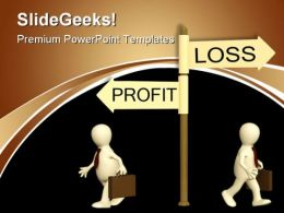 Profit Loss Business PowerPoint Templates And PowerPoint Backgrounds 0611