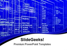Programming Technology PowerPoint Templates And PowerPoint Backgrounds 0711