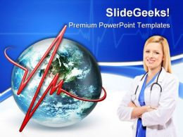 Pulse Of The World Medical PowerPoint Templates And PowerPoint Backgrounds 0311