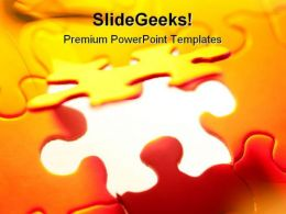 Puzzle Background PowerPoint Templates And PowerPoint Backgrounds 0711