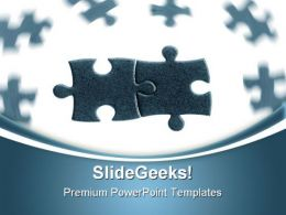 Puzzle Solution01 Business PowerPoint Templates And PowerPoint Backgrounds 0711
