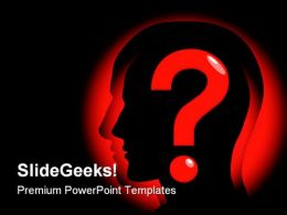 Question Mind Business PowerPoint Templates And PowerPoint Backgrounds 0811