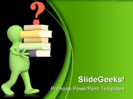 Question People Eduation PowerPoint Backgrounds And Templates 1210