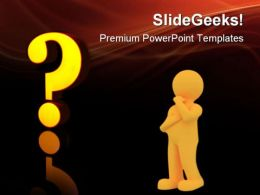 Question Symbol PowerPoint Templates And PowerPoint Backgrounds 0711